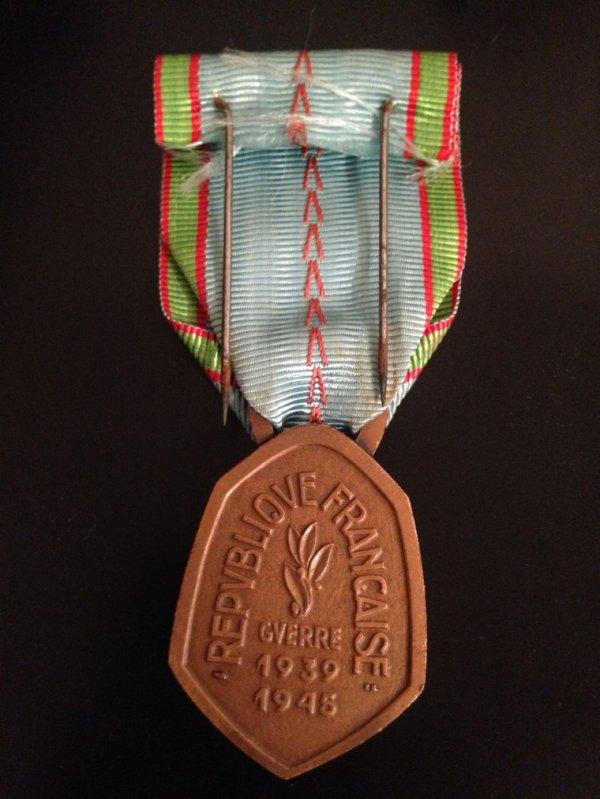 Médaille ww2 commémorative