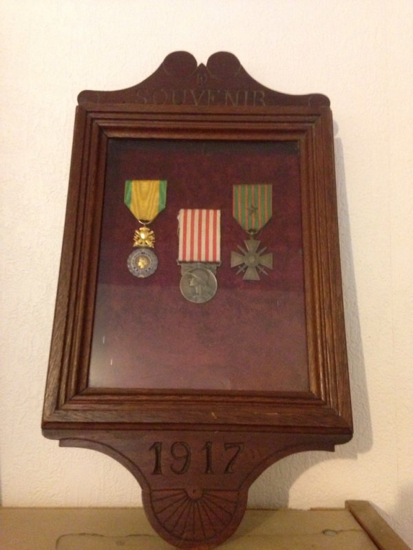 Cadre 1917 souvenir fini