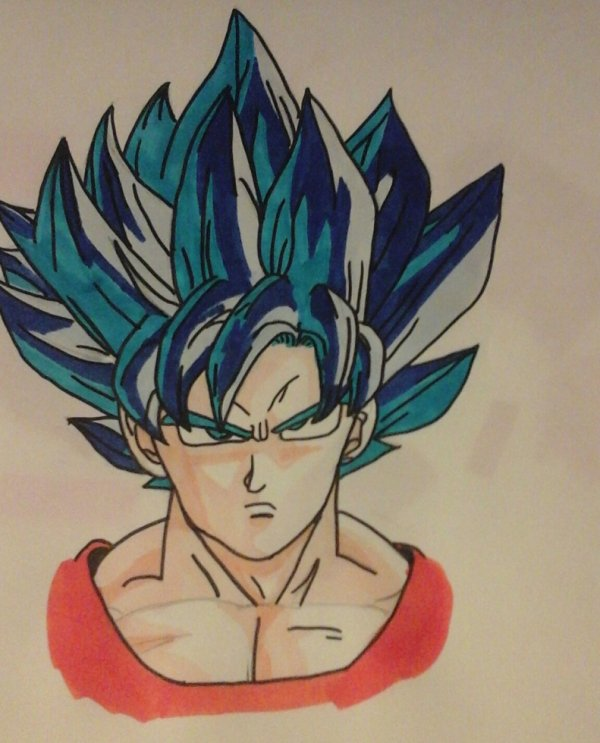 Pour une fois que je colorie un de mes dessins