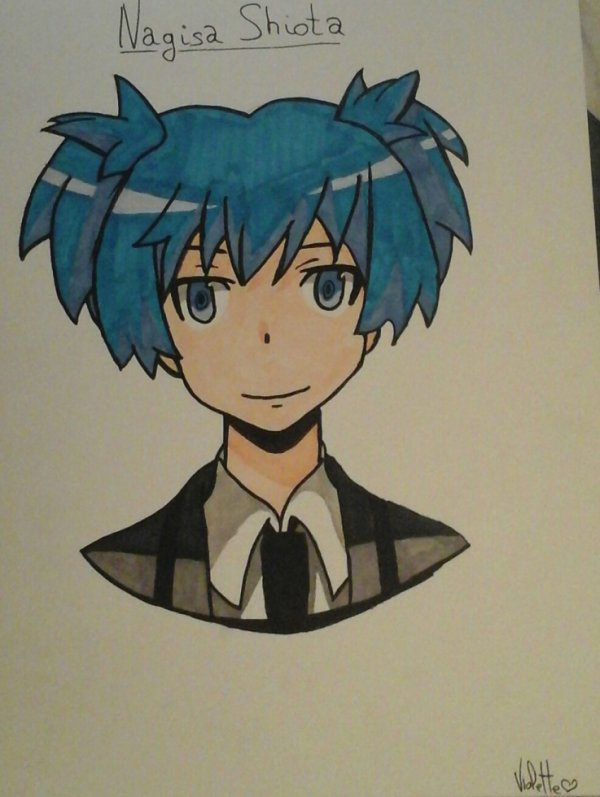 Nagisa Shiota de assassination classroom