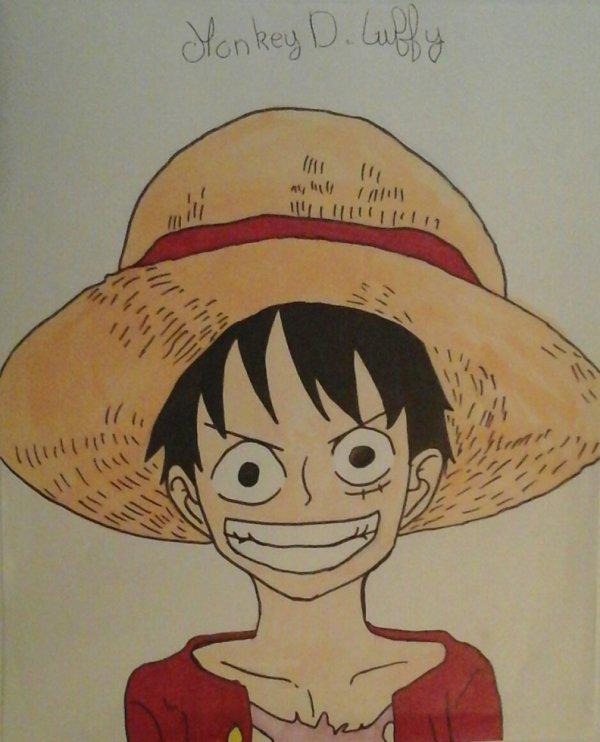 Luffy au chapeau de paille