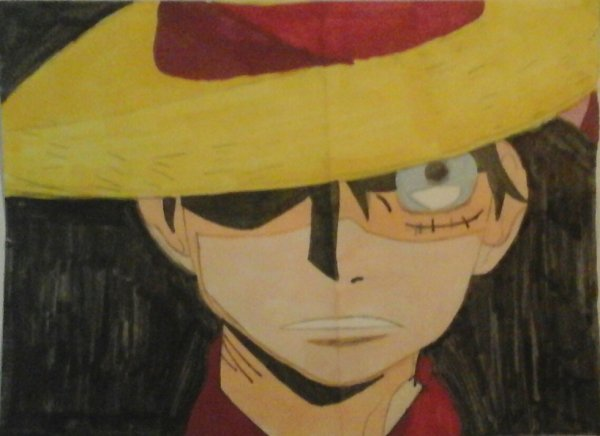 Luffy fierce attaque