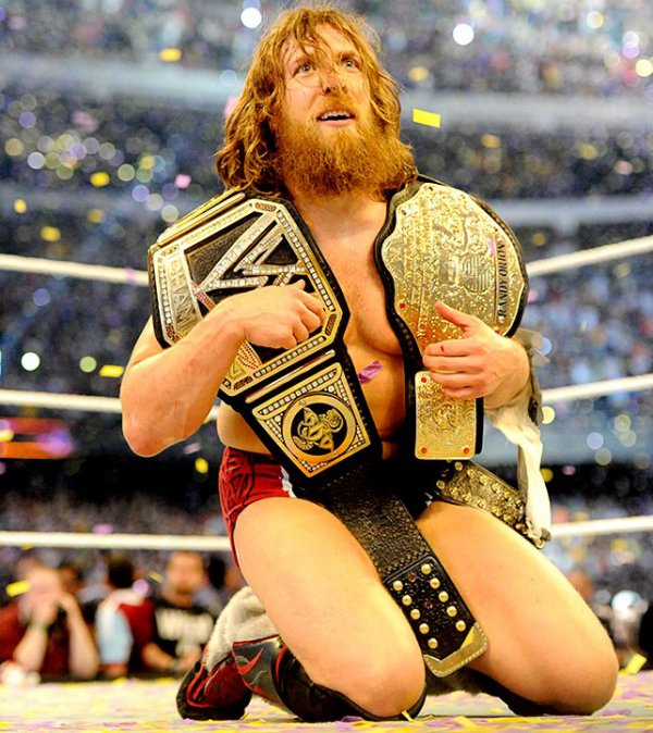 daniel bryan new wwe wordl champ