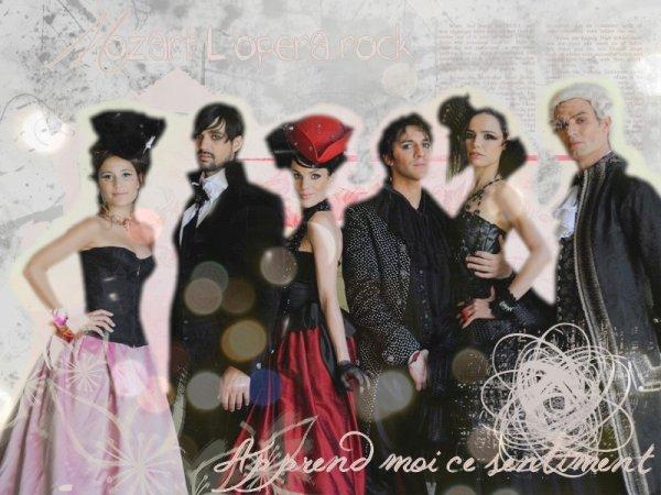 Mozart L'opéra rock une passion