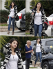 15.01 - Selena & Justin quittent la résidence d'un ami, Sherman Oaks