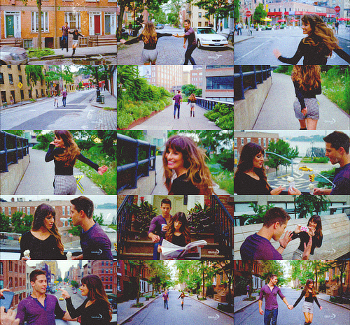 Glee / A Change would do you good - Lea Michele & Dean Geyer (2013)