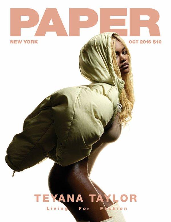Teyana Taylor | Paper Mag Cover