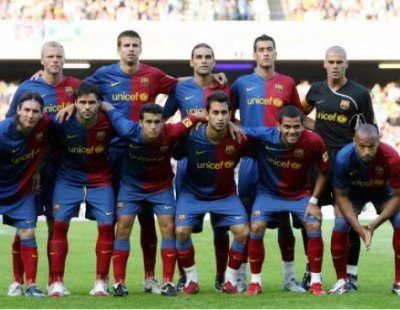 équipe de Barcelona