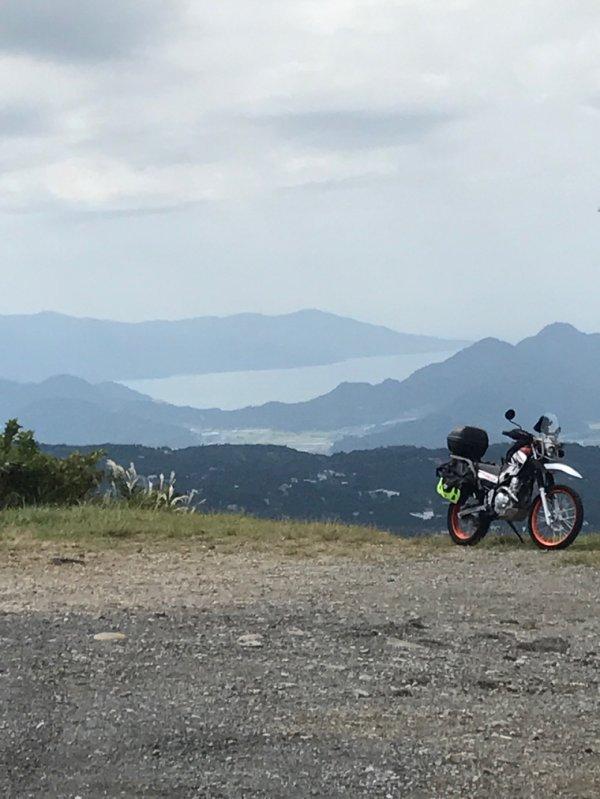 Bike and landscape