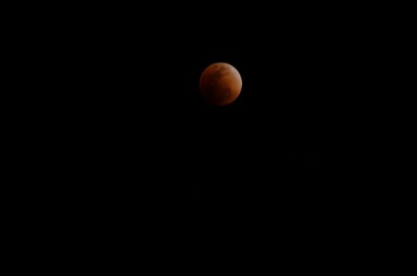 Eclipse in Japan 2018.01.31 pm08:50-09:50