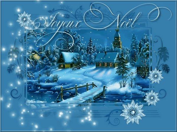 Je vous souhaite un Joyeux Noel.