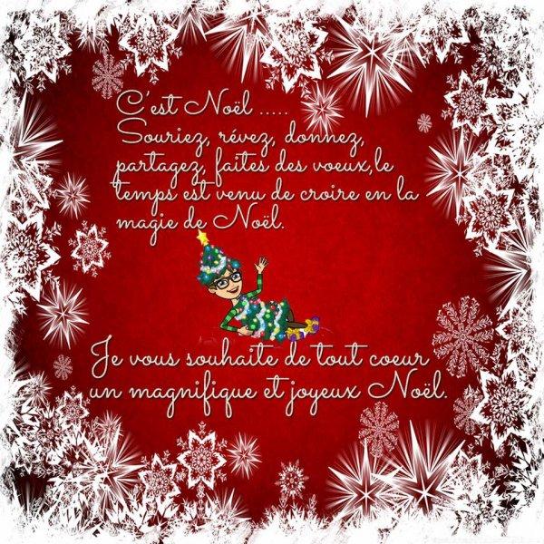 Jojeux Noel mes amies