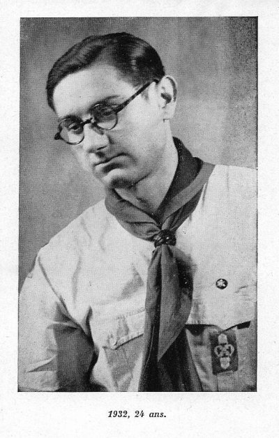 Guy de Larigaudie, Scout de France, Mort pour la France, 1908-1940