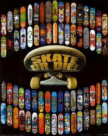"""L-M """"Skate or die"""""""
