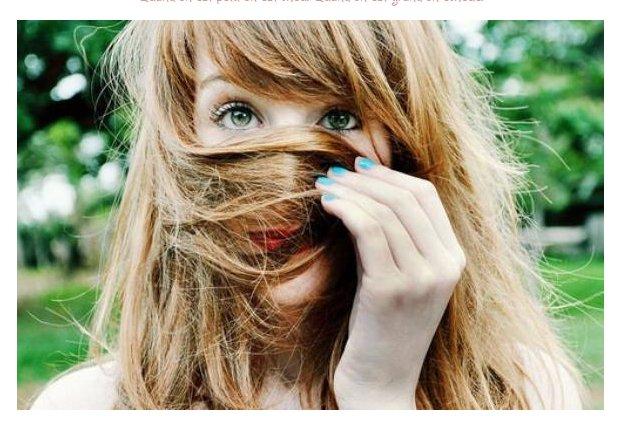 .« L'imperfection est beauté, la folie est génie et il vaut mieuxêtre totalement ridicule que totalement ennuyeux. »