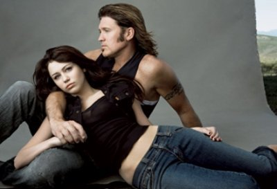 Miley Cyrus et Billy Ray Cyrus