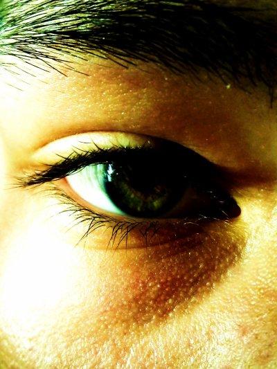 oeil droit