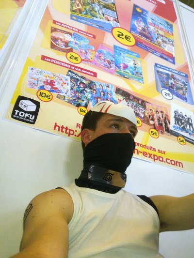Moi cosplay pour la japan expo 2011
