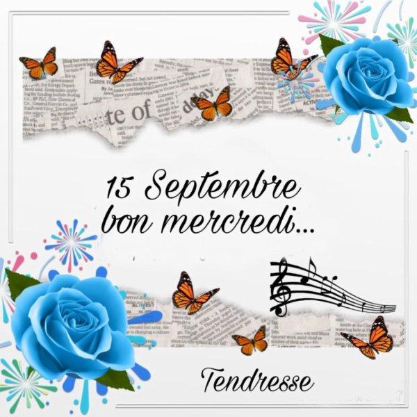 je vous souhaite un excellent mercredi !!!!!!!!