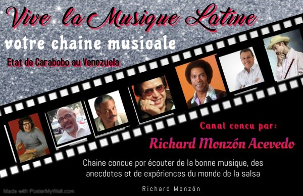 Que Viva La Musica Latina-Richard Monzón