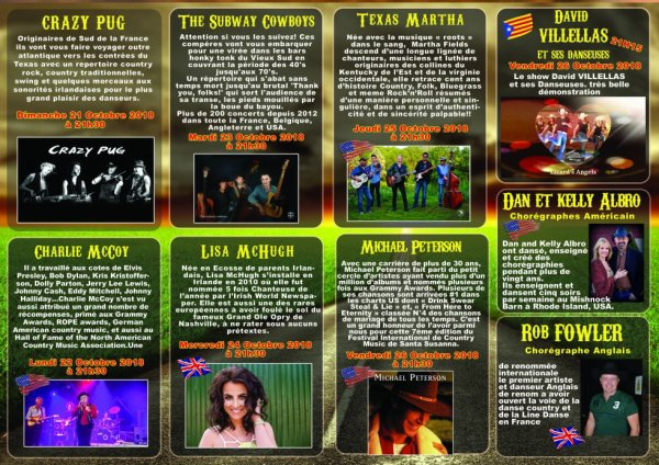 FESTIVAL INTERNATIONAL DE COUNTRY MUSIC