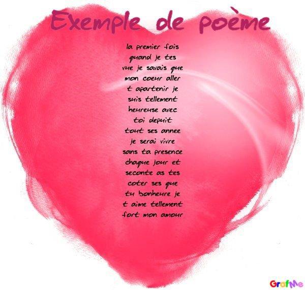 poeme pour l homme de ma vie