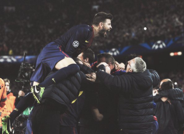 Gerard Piqué ~ Fc Barcelona - Ac Milan 12-03-13 « Une ambiance magnifique »