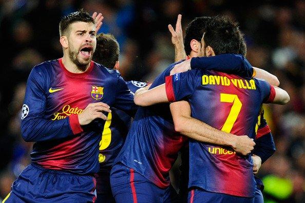 Gerard Piqué ~ Fc Barcelona vs Ac Milan 12-03-13 ainsi que sa conférence de presse 11-03-12