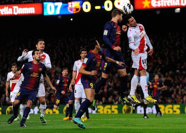 Gerard Piqué ~ Fc Barcelona 3-1 Rayo Vallecano 18-03-13