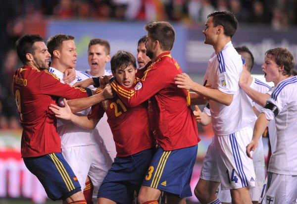 Gerard Piqué Spain VS Finland #3