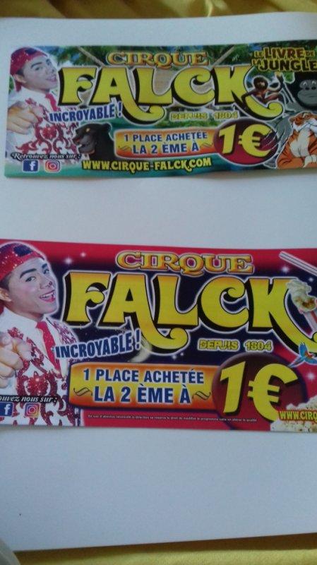 """""""Reportage numėro 2 lucrio ėtė 2018:""""Le cirque Falck de passage aux Sables d'olonne""""."""