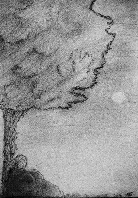Vive le silence sous un arbre ^^ de Ninog