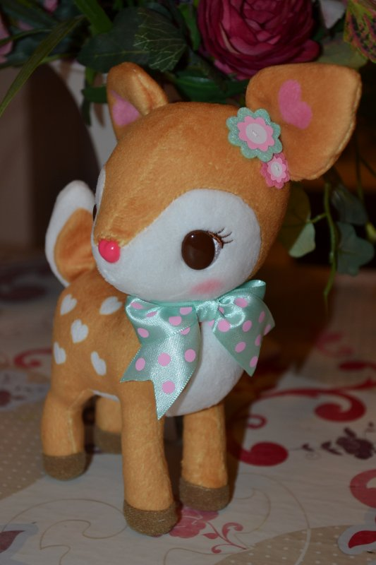 Peluche Humming Mint ♥