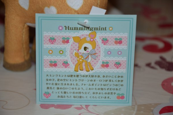 Peluche Humming Mint (suite) ♥