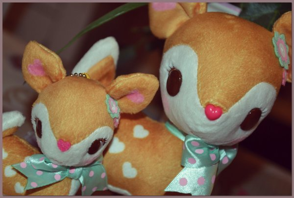 Peluches Humming Mint ♥
