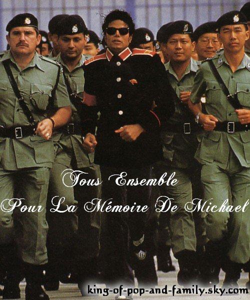 Tous Ensemble Pour La Mémoire De Michael