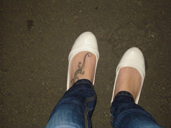 mon tatouage au pied