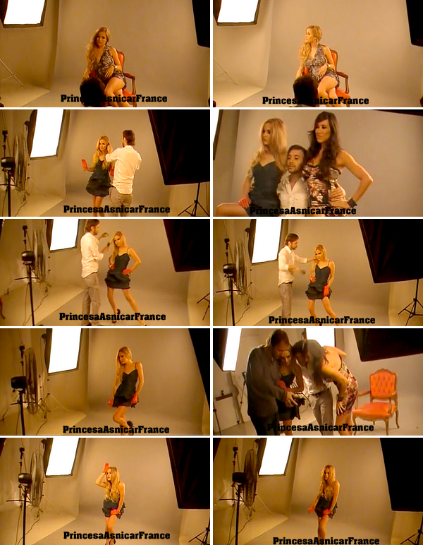 Les Backstage du photoshoot de Brenda et Alejandro Luccheta