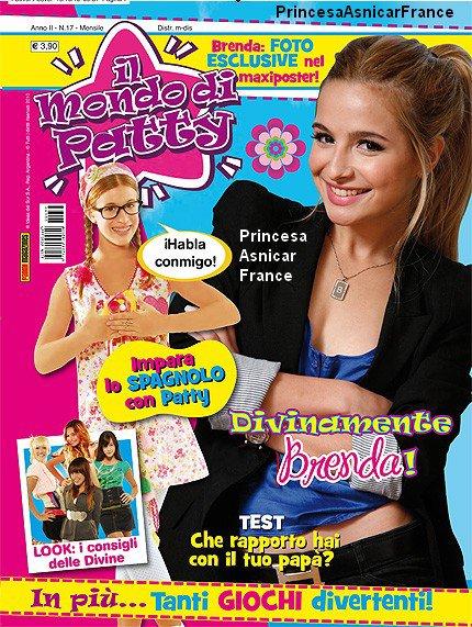 Un Nouveux magazine sur Patito Feo avc plein de photos à etait la plus belle à la vente à partir du 19 novembre