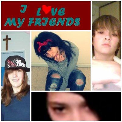 mes meilleur amies je vous aime