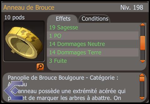 Article 4 , 23 février 2014. Un peu de drop pour crafter anneau Brouce.