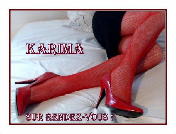 Un bon moment Karima est là !