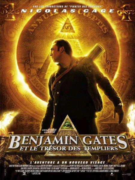 Benjami Gates et les trésor des templiers