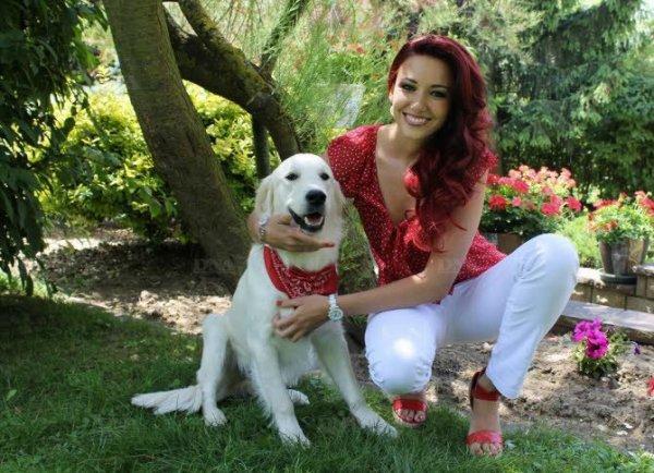 Delphine Wespiser: son chien et l'alsacien