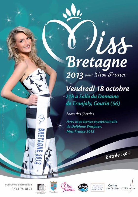 Election de Miss Bretagne 2013