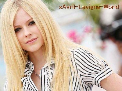 Tout sur mon idole .Avril Lavigne