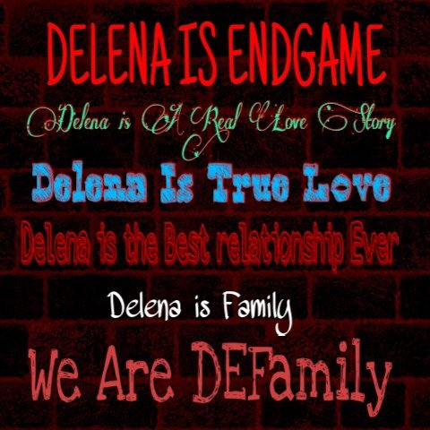 Delena... A long and Amazing Story