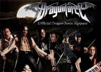 DragonForce: Les Dieux du Power.