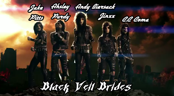Black Veil Brides ! My favourite band. [ I'm Anglish. :sors: ]