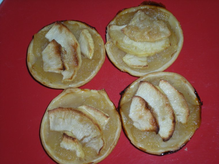 Tartelettes aux pommes
